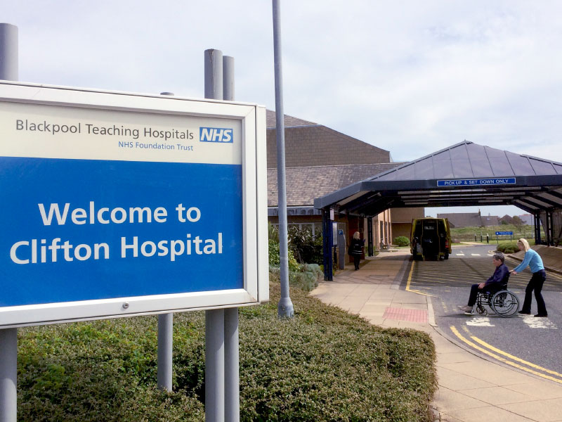 Clifton Hospital, Lytham St. Annes